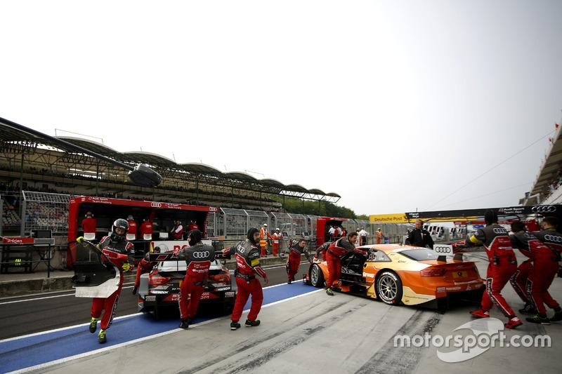 Adrien Tambay, Audi Sport Team Rosberg, Audi RS 5 DTM; Jamie Green, Audi Sport Team Rosberg, Audi RS 5 DTM