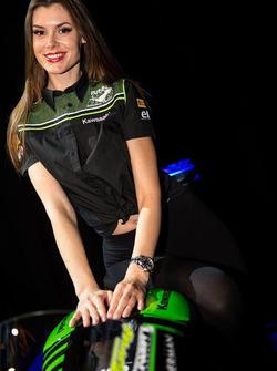Kawasaki Puccetti Racing girl