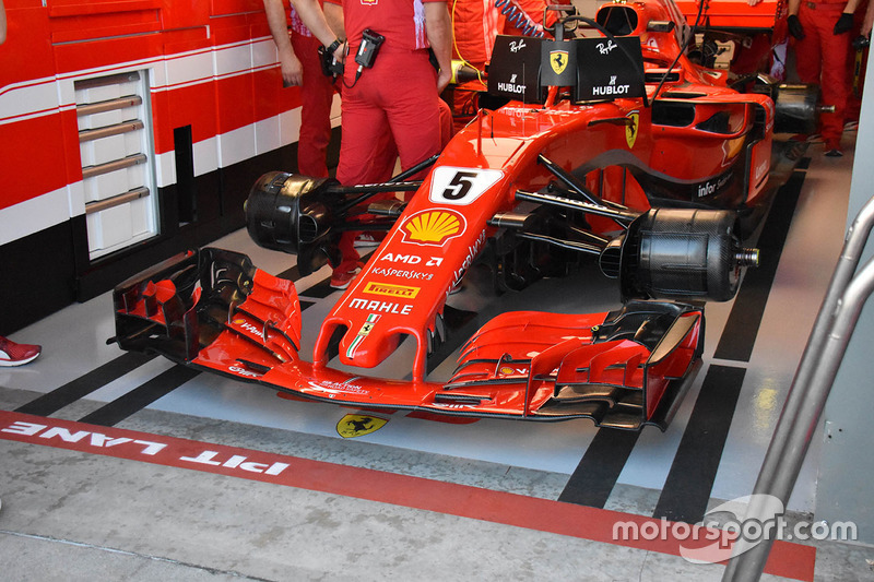 Ferrari SF71H, Sebastian Vettel