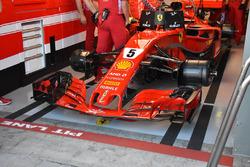 Ferrari SF71H of Sebastian Vettel