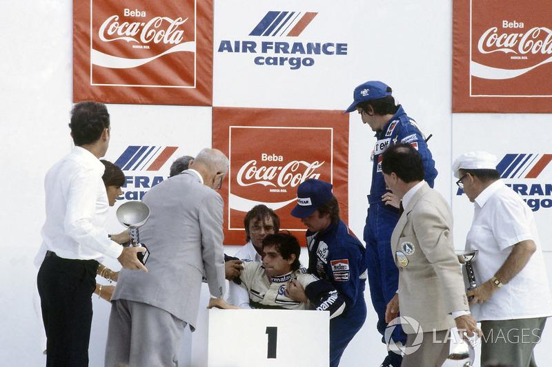 Ganador del GP de Brasil 1982: Alain Prost*