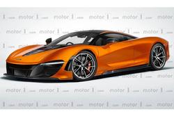Rendu McLaren BP23