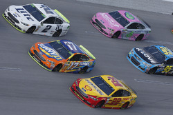 Brad Keselowski, Team Penske Ford Joey Logano, Team Penske Ford Ricky Stenhouse Jr., Roush Fenway Racing Ford