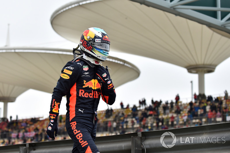 Daniel Ricciardo, Red Bull Racing terhenti di FP3