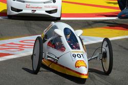 Fernando Alonso, Ferrari all'evento Shell eco car