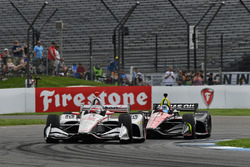 Will Power, Team Penske Chevrolet, Robert Wickens, Schmidt Peterson Motorsports Honda
