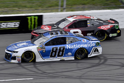 Alex Bowman, Hendrick Motorsports, Chevrolet Camaro Nationwide and Austin Dillon, Richard Childress Racing, Chevrolet Camaro Dow