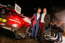 Рене Раст, Audi Sport Team Rosberg, и Деннис Ростек