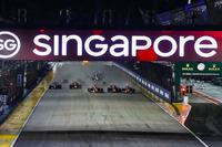 Start: Sebastian Vettel, Ferrari SF70H, Max Verstappen, Red Bull Racing RB13, Kimi Raikkonen, Ferrari SF70H
