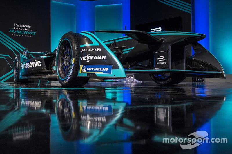 Jaguar Racing livery launch