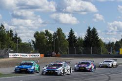 Loic Duval, Audi Sport Team Phoenix, Audi RS 5 DTM, Tom Blomqvist, BMW Team RBM, BMW M4 DTM