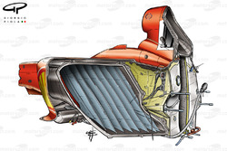 Ferrari F2004 chassis detail