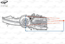Brawn BGP 001 2009 rear suspension geometry