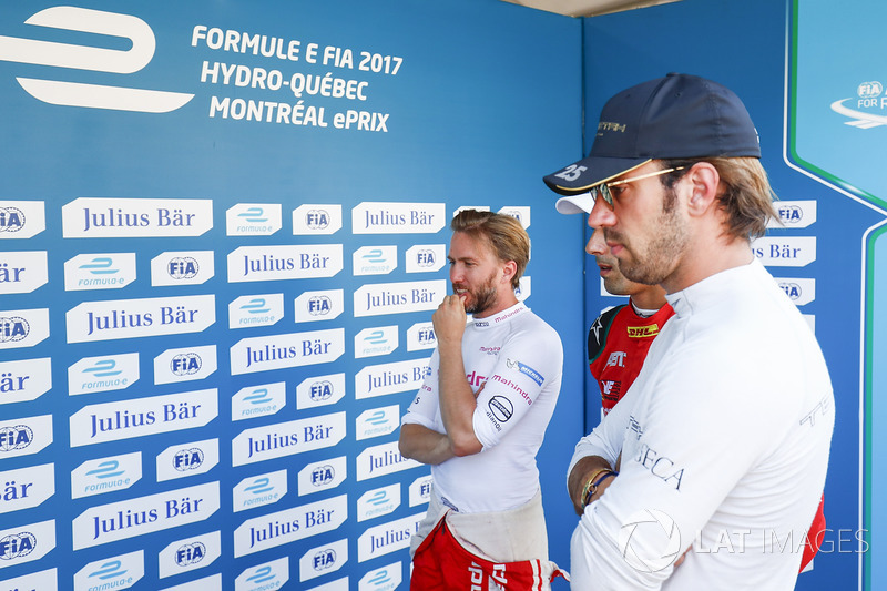 Nick Heidfeld, Mahindra Racing ve Jean-Eric Vergne, Techeetah