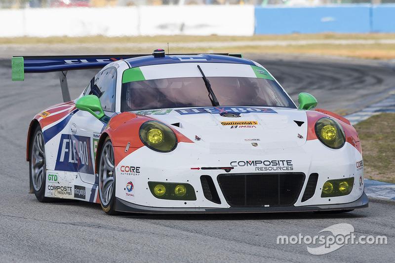 #54 CORE Autosport, Porsche 911 GT3R: Jon Bennett, Colin Braun, Nic Jonsson