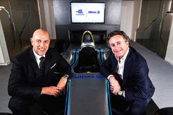 Jean-Marc Pailhol, Allianz SE Leiter Group Market Management & Distribution, Alejandro Agag, Formula E CEO