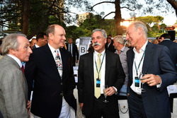 Jackie Stewart, HSH Prince Albert of Monaco, and Chase Carey, Chief Executive Officer and Executive
