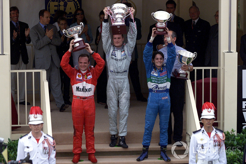 2000: 1. David Coulthard, 2. Rubens Barrichello 3. Giancarlo Fisichella