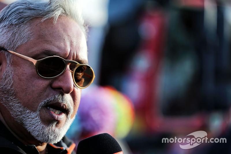 Dr. Vijay Mallya, dueño de Sahara Force India Formula One Team