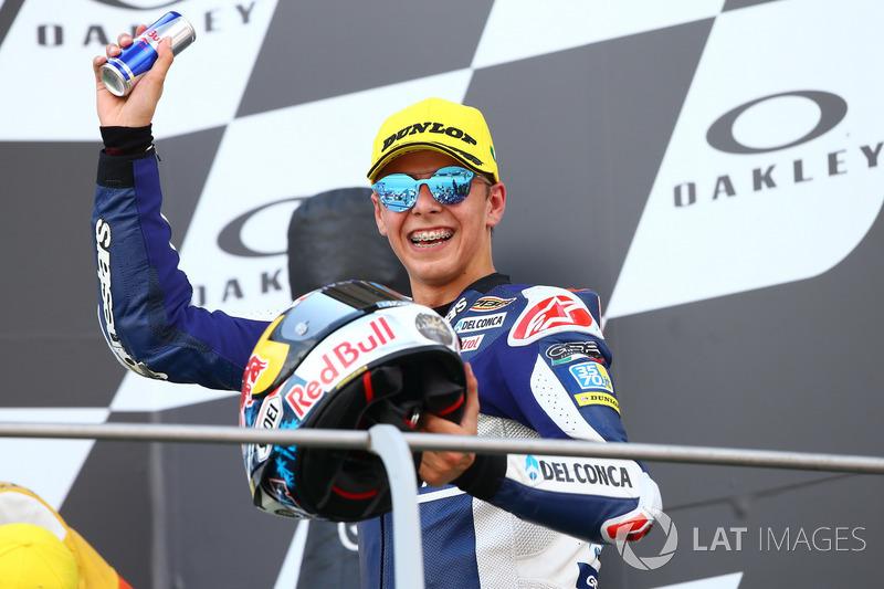 2. Fabio Di Giannantonio, Del Conca Gresini Racing Moto3