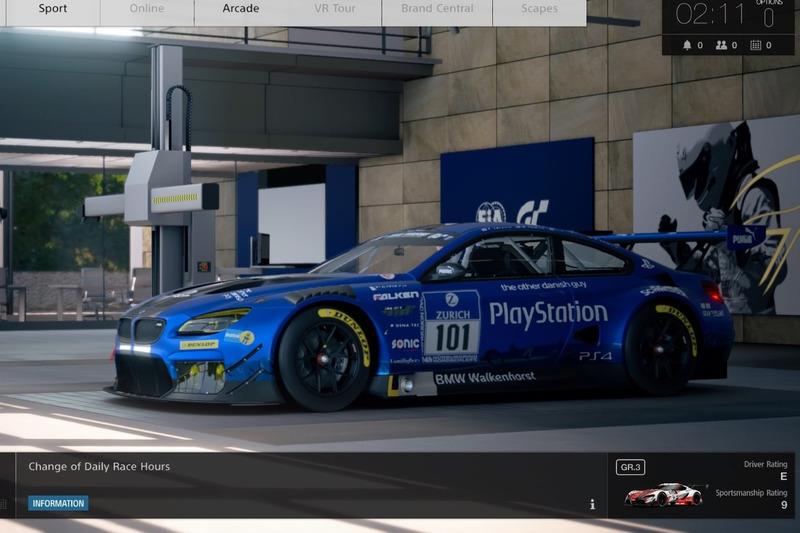 Gran Turismo Sport Closed Beta