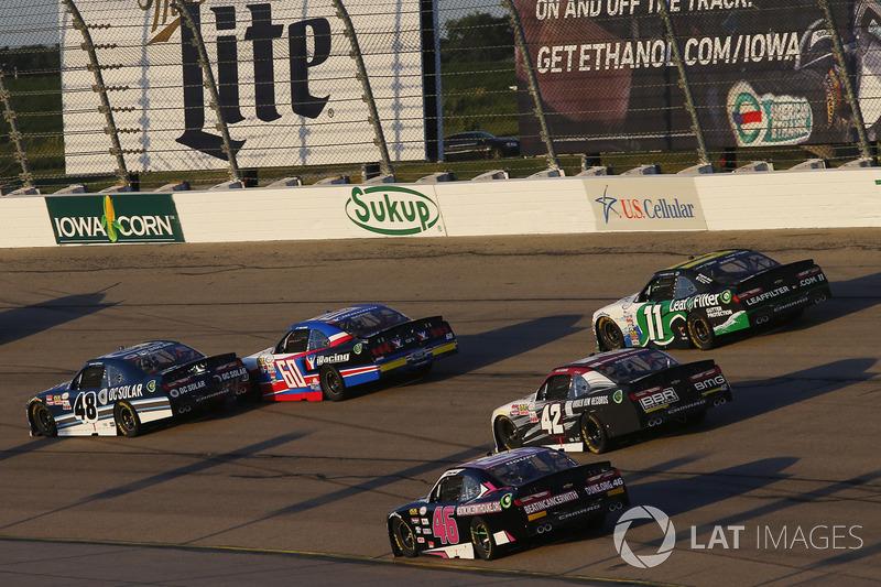 Brennan Poole, Chip Ganassi Racing Chevrolet, Ty Majeski, Roush Fenway Racing Ford