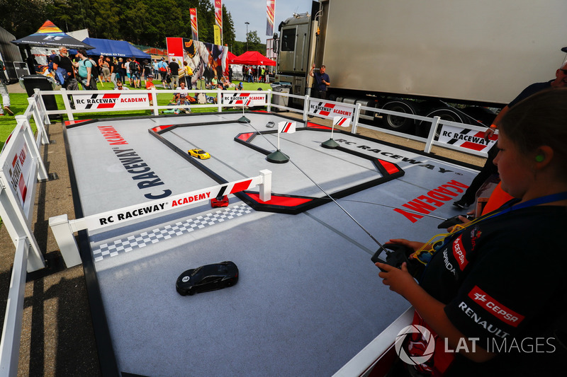 The RC Raceway Academy track in the F1 Fanzone