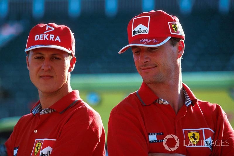Michael Schumacher, Eddie Irvine, Ferrari