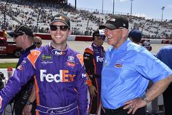 Denny Hamlin, Joe Gibbs Racing, Toyota, mit
