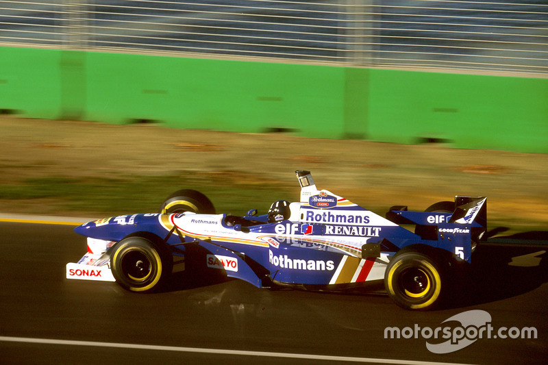 1996: Damon Hill, Williams -Renault FW18