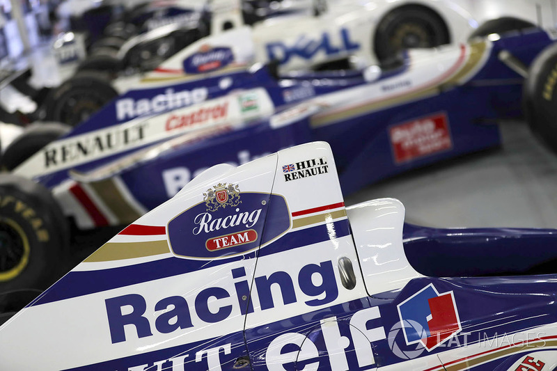 Автомобиль Williams Дэймона Хилла 1996 года