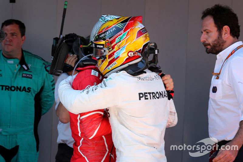 Ganador, Lewis Hamilton, Mercedes AMG F1, Sebastian Vettel, Ferrari