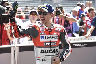 Winnaar Jorge Lorenzo, Ducati Team
