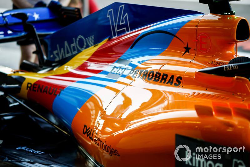 Livrée spéciale pour le dernier GP de Fernando Alonso