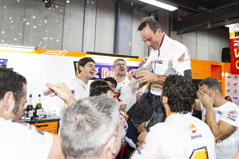 Марк Маркес, Альберто Пуч, керівник команди, Repsol Honda Team