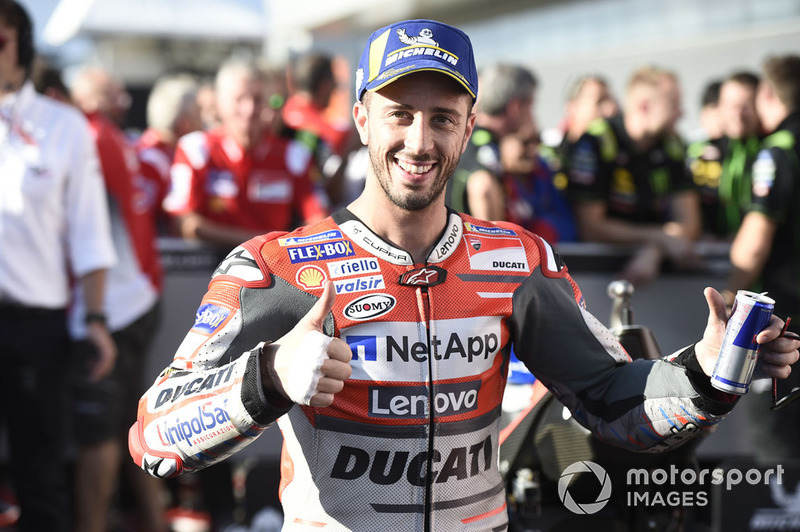 Володар поул-позиції Андреа Довіціозо, Ducati Team