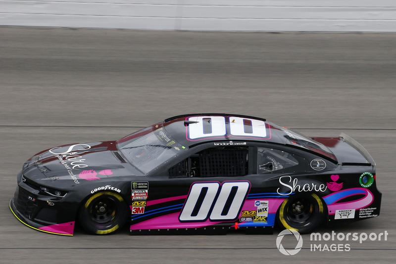 35. Landon Cassill, StarCom Racing, Chevrolet Camaro Share Foundation