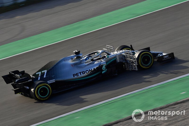 Mercedes-AMG F1 W10 EQ Power+ with aero sensor