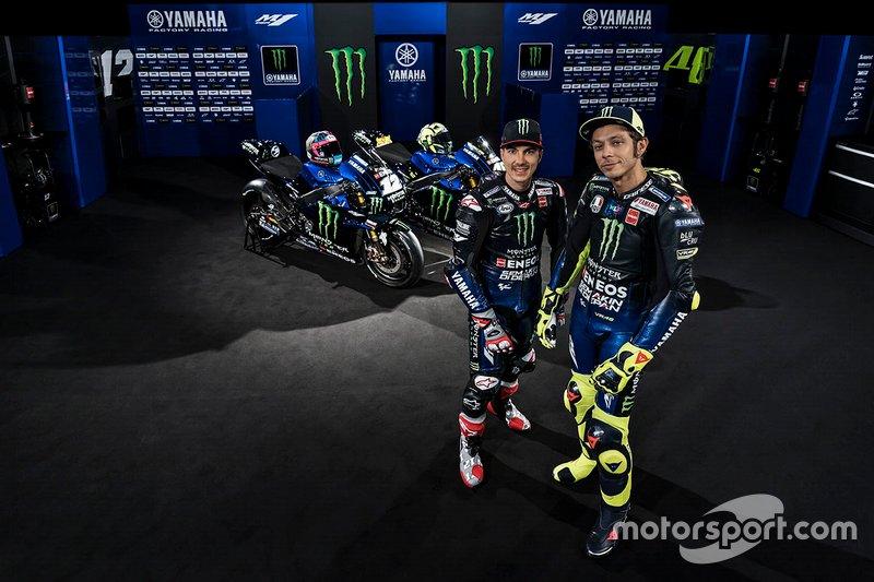 Valentino Rossi, Yamaha Factory Racing, Maverick Vinales, Yamaha Factory Racing