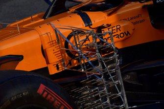 McLaren MCL34 sensori aerodinamici