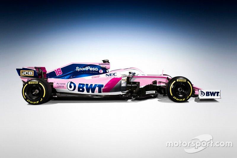 Presentación Racing Point 2019