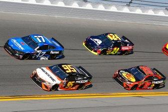 Matt DiBenedetto, Leavine Family Racing, Toyota Camry Procore, Ricky Stenhouse Jr., Roush Fenway Racing, Ford Mustang Fastenal