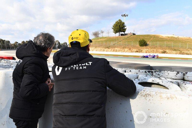 Даніель Ріккардо, Ален Прост, Renault F1 TeamАлекс Албон, Scuderia Toro Rosso STR14