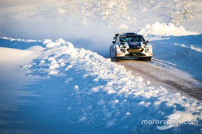 Teste de Valtteri Bottas na M-Sport