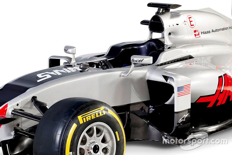 Haas VF-16, Detail