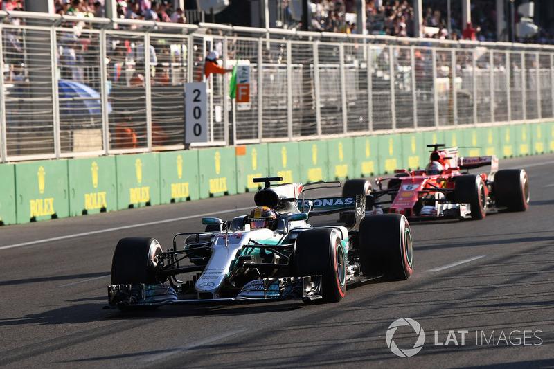 El Accidente del Año: Hamilton-Vettel en el GP de Azerbaiyán