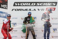 Podium: 1. Pietro Fittipaldi, Lotus; 2. Alfonso Celis Jr., Fortec Motorsport; 3. Egor Orudzhev, SMP Racing by AV