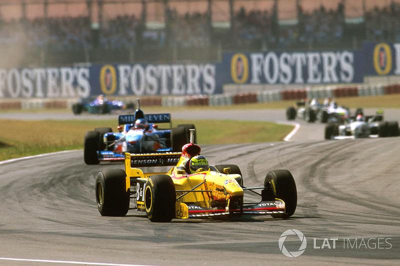 #8: Ralf Schumacher, GP de Argentina de 1997 (21 años, 287 días)