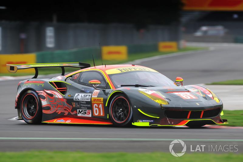 5. GTE-Am: #61 Clearwater Racing, Ferrari 488 GTE