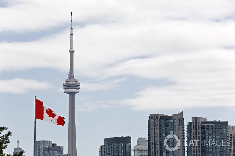 Vista de la CN Tower